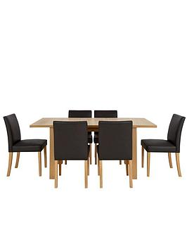 primo-extending-dining-table-and-6-lucca-chairs-set