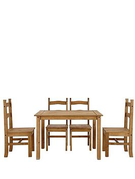 san-diego-pine-dining-table-and-chairs-set