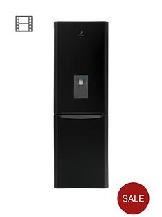 indesit-biaa13fkwd-60cm-fridge-freezer-with-water-dispenser-black