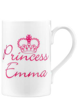 personalised-princess-mug