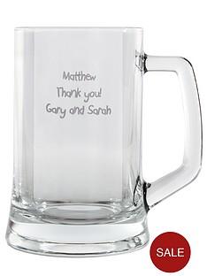 personalised-glass-tankard