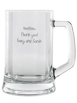 personalised-glass-tankard
