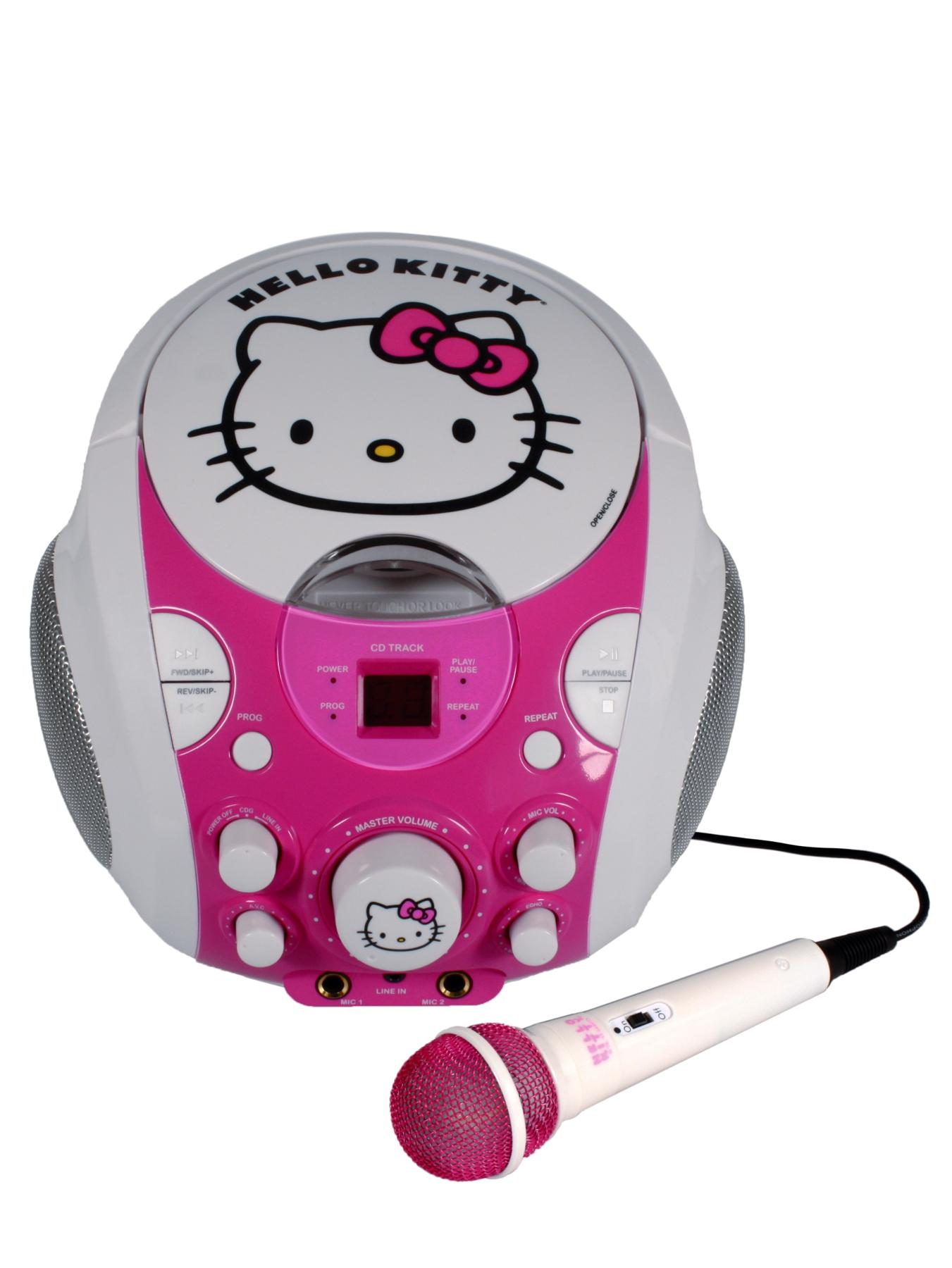Hello Kitty Portable Karaoke Machine