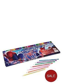 spiderman-50-piece-colouring-tin