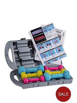 york-10kg-vinyl-fitbell-set--in-a-case