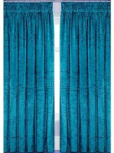laurence-llewelyn-bowen-curtain-call-velvet-effect-pencil-pleat-curtains