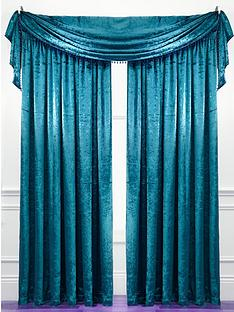 laurence-llewelyn-bowen-curtain-call-velvet-effect-scarf-valance