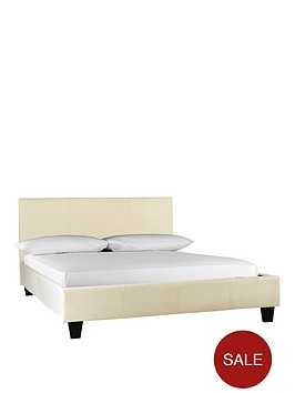 roma-faux-leather-bed-frame