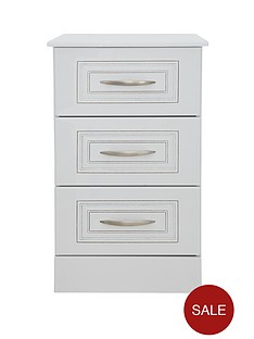 consort-dorchester-ready-assembled-3-drawer-bedside-cabinet
