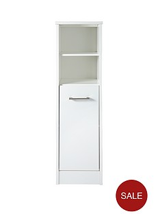 ready assembled white bathroom cabinets cabinets home garden