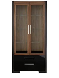 mezzo-2-door-2-drawer-display-unit