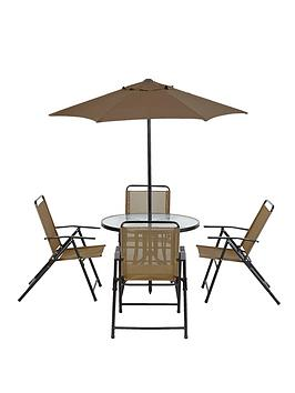 cuba-6-piece-dining-set-with-next-day-delivery-copper