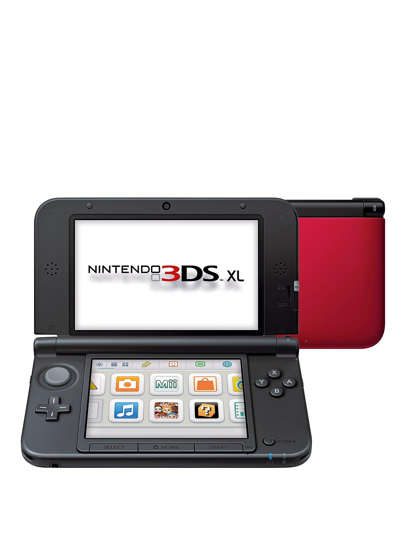 Nintendo 3DS XL Console with Adaptor - Blue, Blue