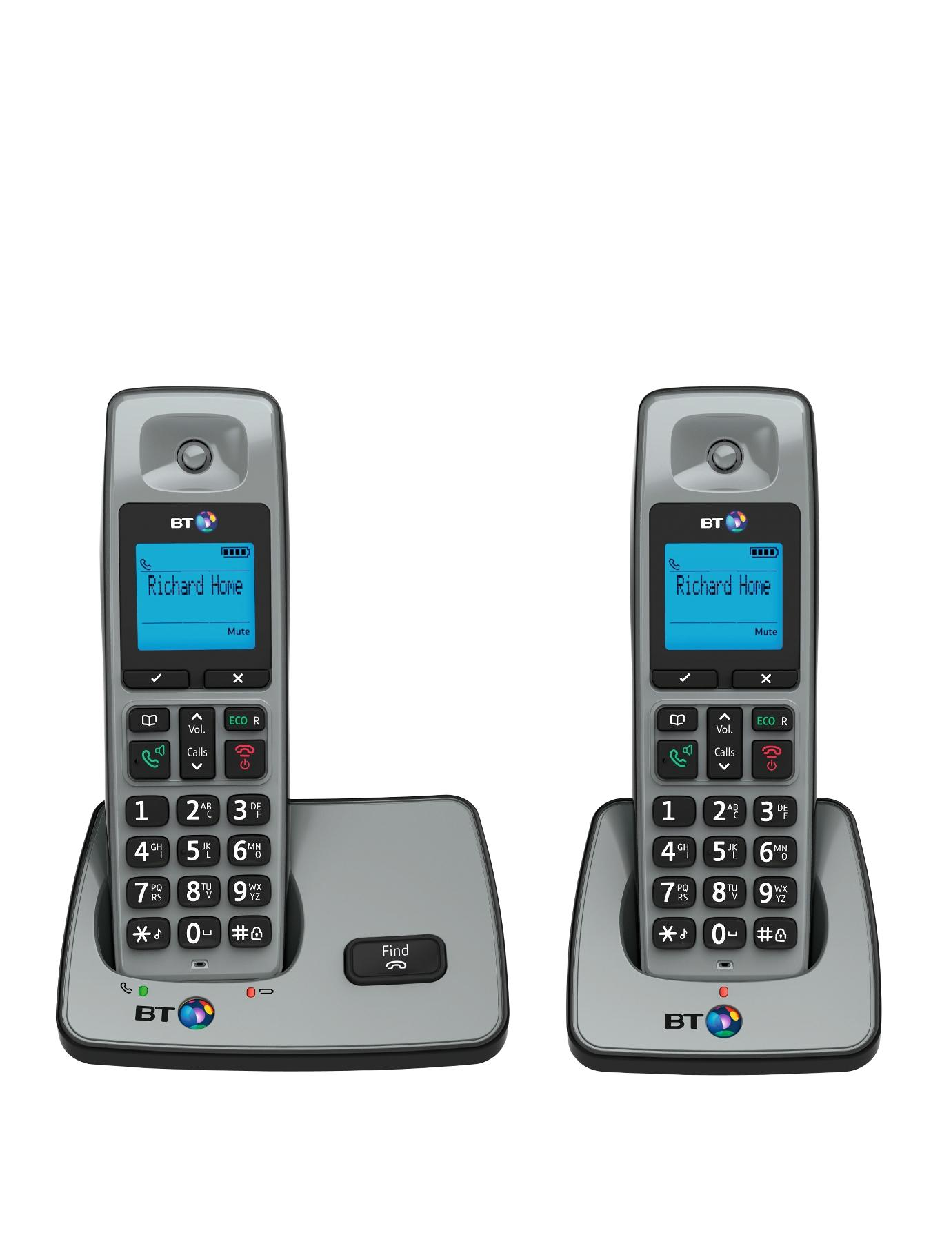 BT 2000 Cordless Telephone - Twin Pack