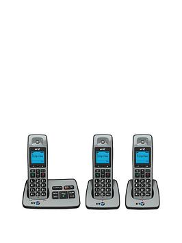 bt-2500-trio-cordless-telephone-with-answering-machine