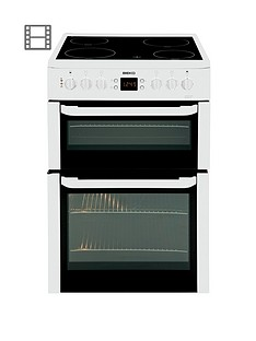 beko-bdvc667w-60cm-double-oven-electric-cooker-with-timer-and-connection-white