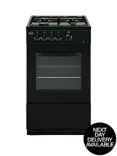 swan-sx1031b-50cm-gas-cooker-with-fsd-black-next-day-delivery