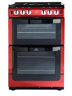 new-world-nw551gtc-555cm-twin-cavity-gas-cooker-red