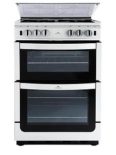 new-world-nw601gtcl-60cm-twin-cavity-gas-cooker-white