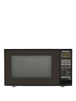 Panasonic Nn-E281Bmbpq 800-Watt Solo Microwave - Black
