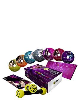 high-street-tv-zumba-2-exhilarate-7-dvd-set