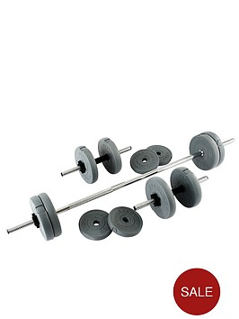 everlast-25kg-vinyl-barbelldumbbell-set