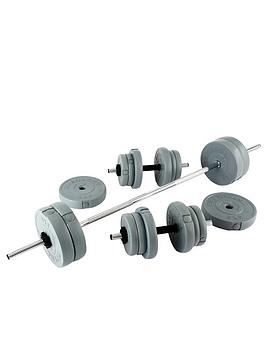 everlast-50kg-vinyl-barbelldumbbell-set