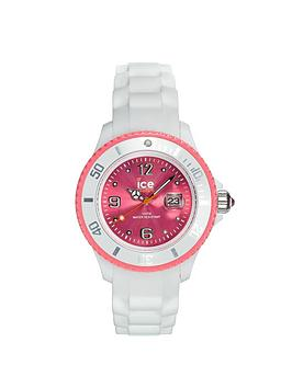 ice-watch-ladies-classic-white-stripe-with-pink-dial-and-trim-watch