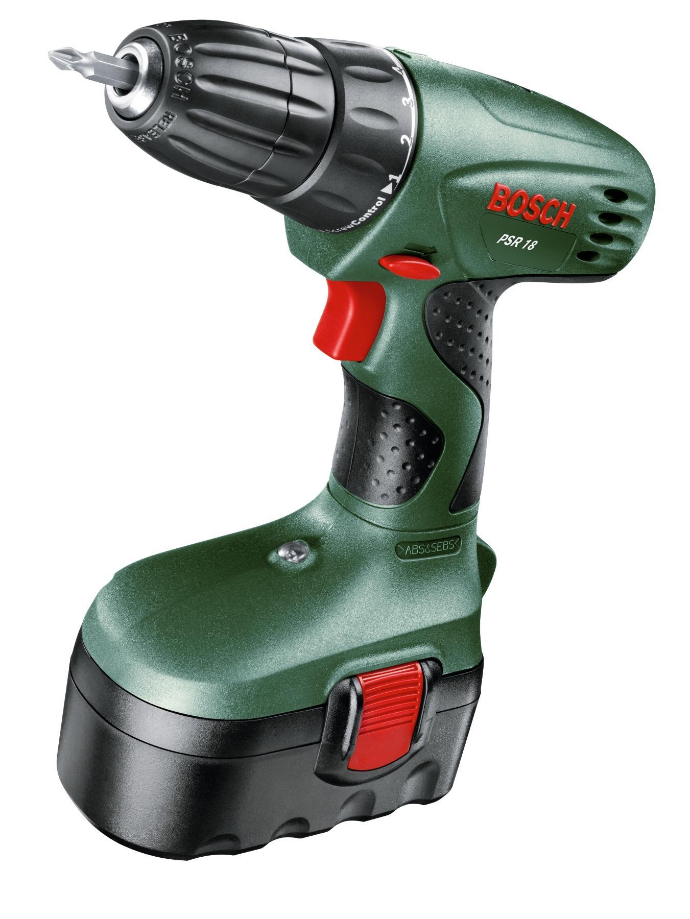 Bosch PSR18 18 Volt Cordless Drill/Driver