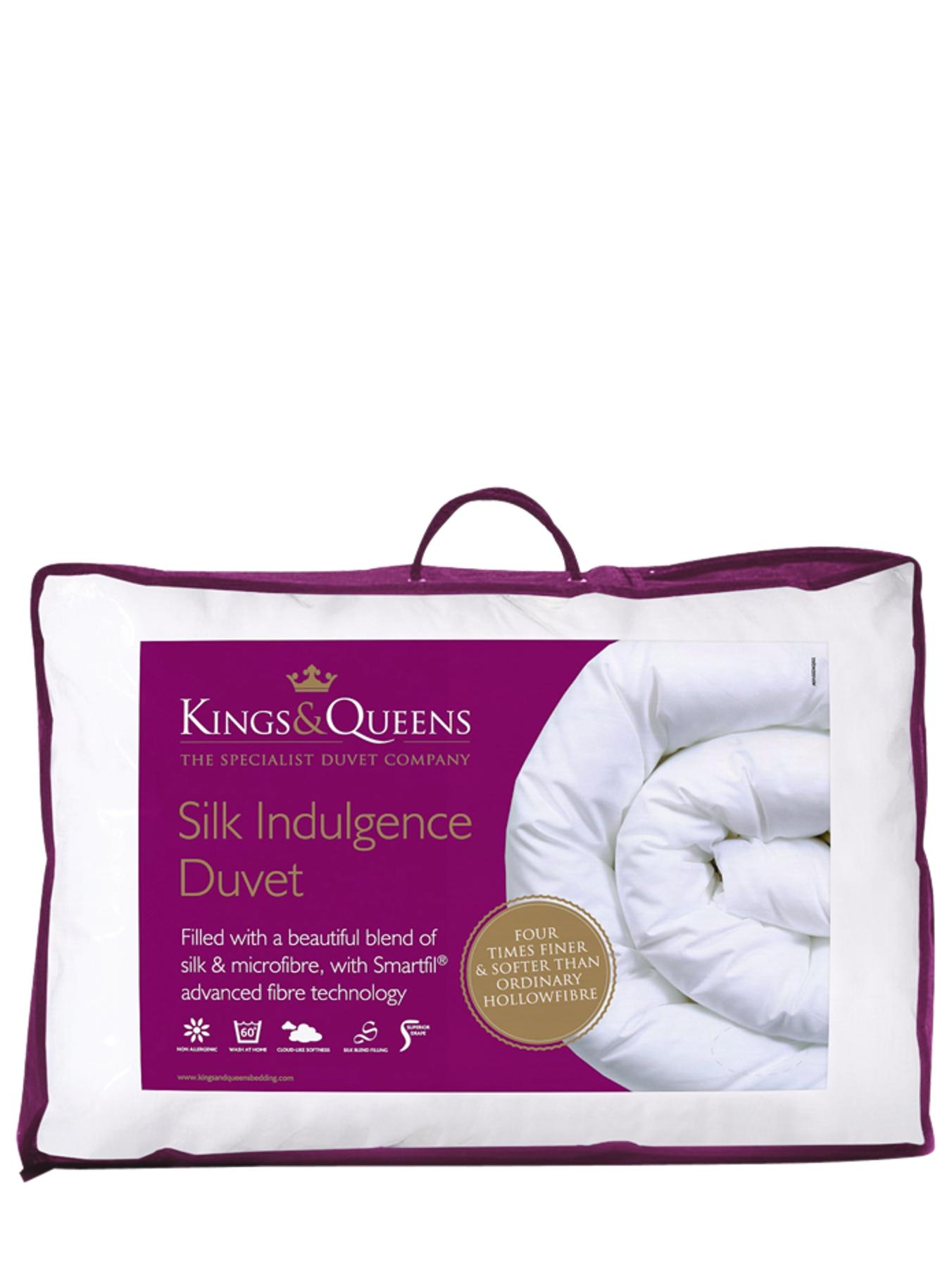 Kings & Queens 10.5 Tog Silk Indulgence Duvet
