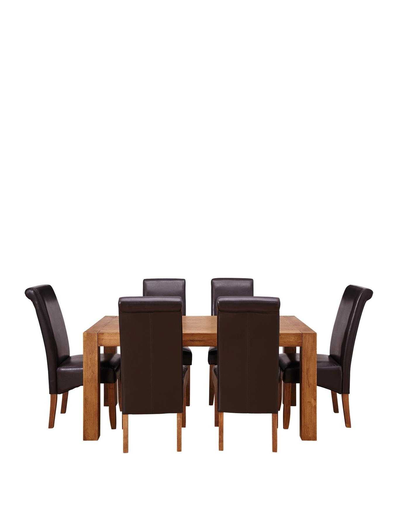 Rome Dining Table and 6 Chairs