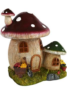 solar-toadstool-house-light-decoration