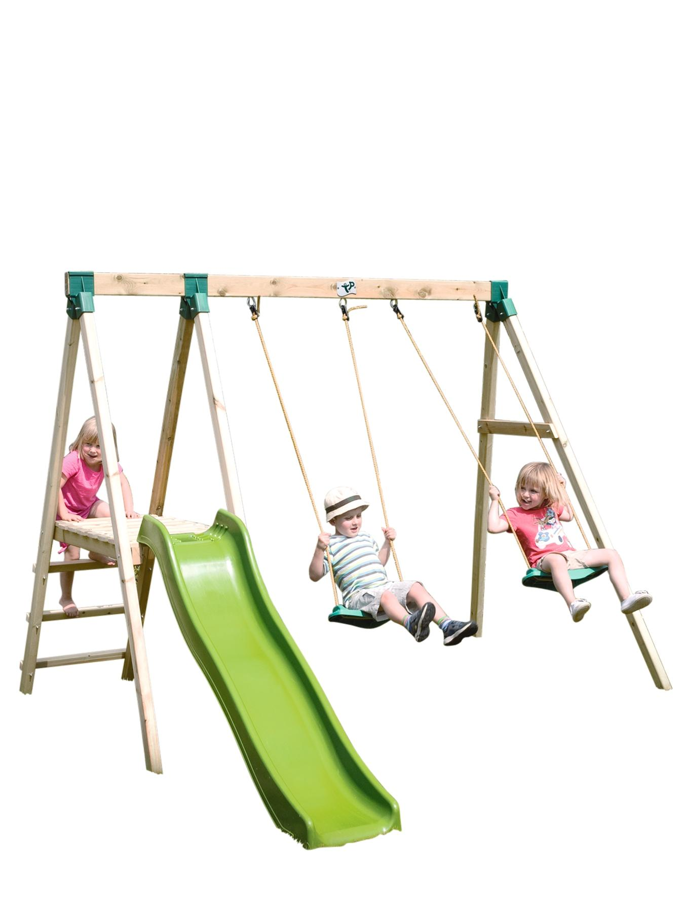 TP Forest Multiplay Garden Swing and Slide Set