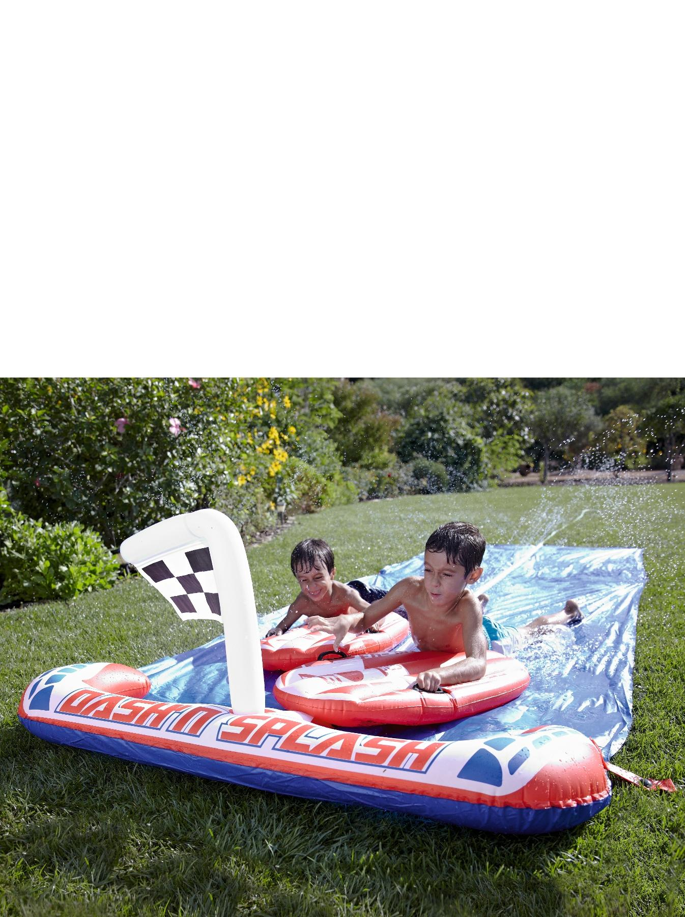 Bestway 16ft Dash 'n' Splash Rally Pro Water Slide