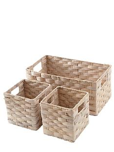 set-of-3-water-hyacinth-baskets-ivory