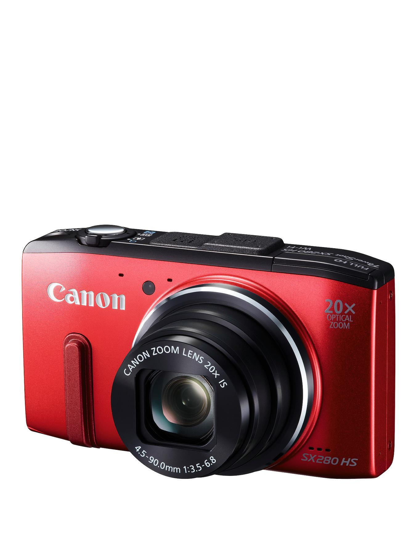 Canon PowerShot SX280 HS Compact Digital Camera