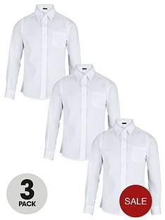 top-class-girls-easy-care-school-uniform-long-sleeve-shirts-3-pack