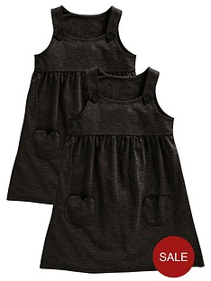 top-class-girls-jersey-pinafore-school-dresses-2-pack