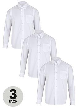 top-class-boys-easy-care-long-sleeve-school-shirts-3-pack