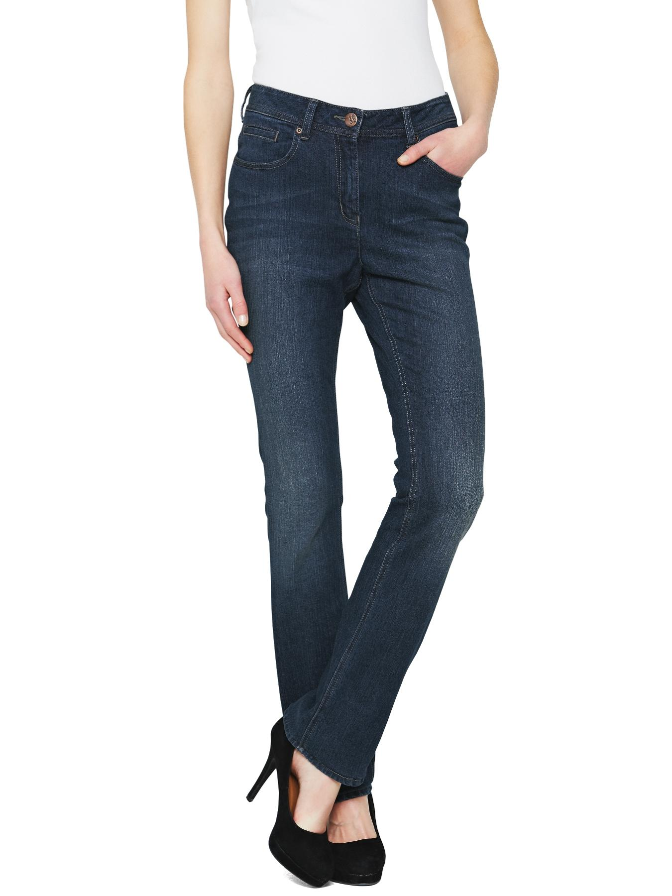 South High Rise Pippa Straight Leg Jeans - Indigo, Black,Indigo
