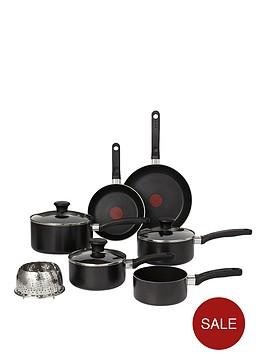 tefal-delight-7-piece-pan-set-black