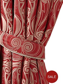laurence-llewelyn-bowen-viennese-swirl-jacquard-curtain-tie-backs