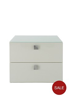 mono-glass-topped-2-drawer-bedside-cabinet