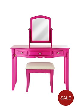 laurence-llewelyn-bowen-bonjour-boudoir-kids-dressing-table-stool-and-mirror