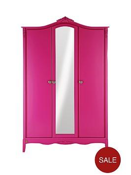 laurence-llewelyn-bowen-bonjour-boudoir-3-door-kids-wardrobe