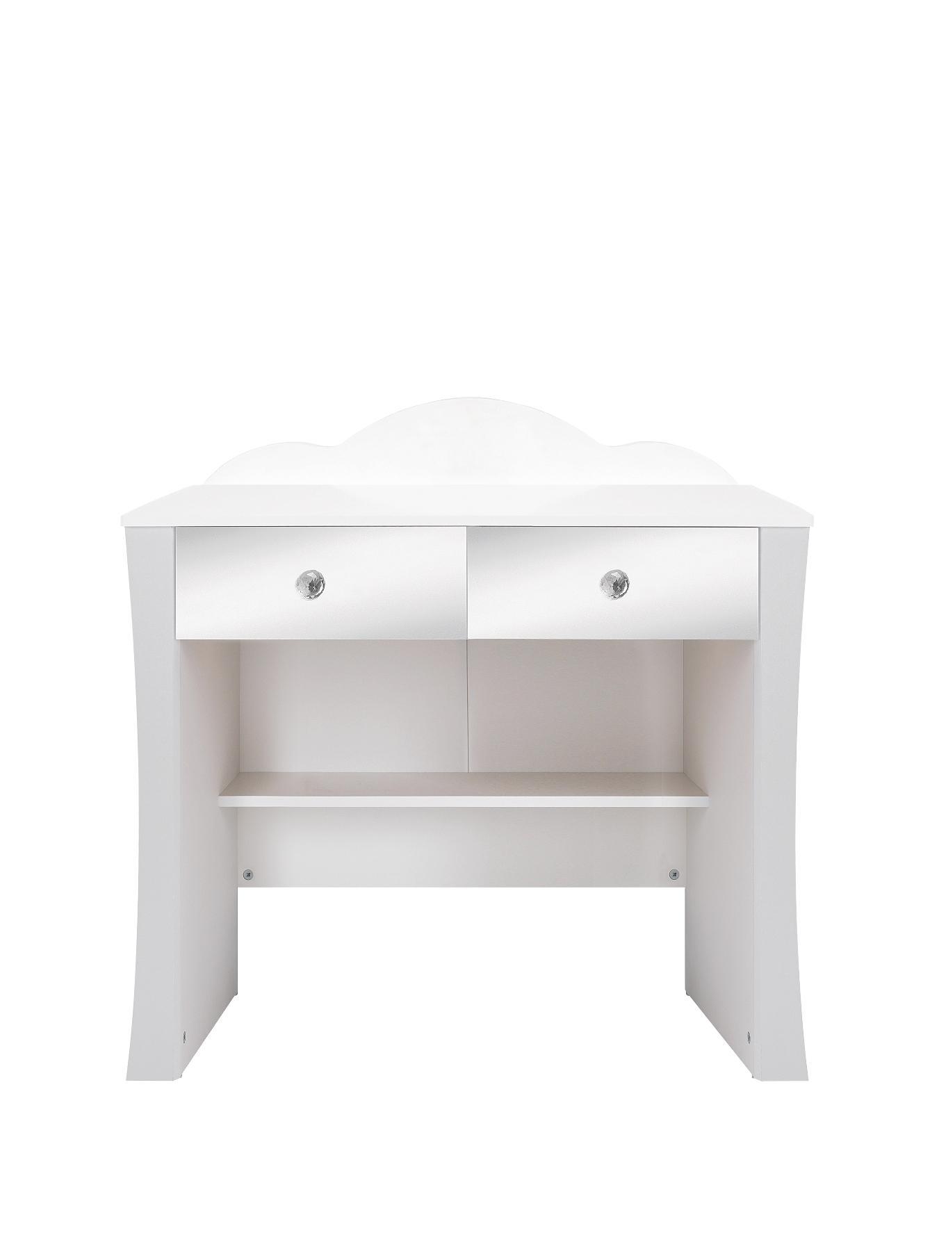 Ladybird Rebecca Kids Dressing Table - White, White