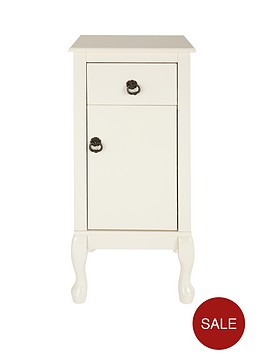 elysee small bathroom floor cabinet unit
