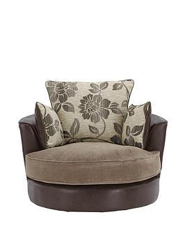Tamsin Snuggle Swivel Chair