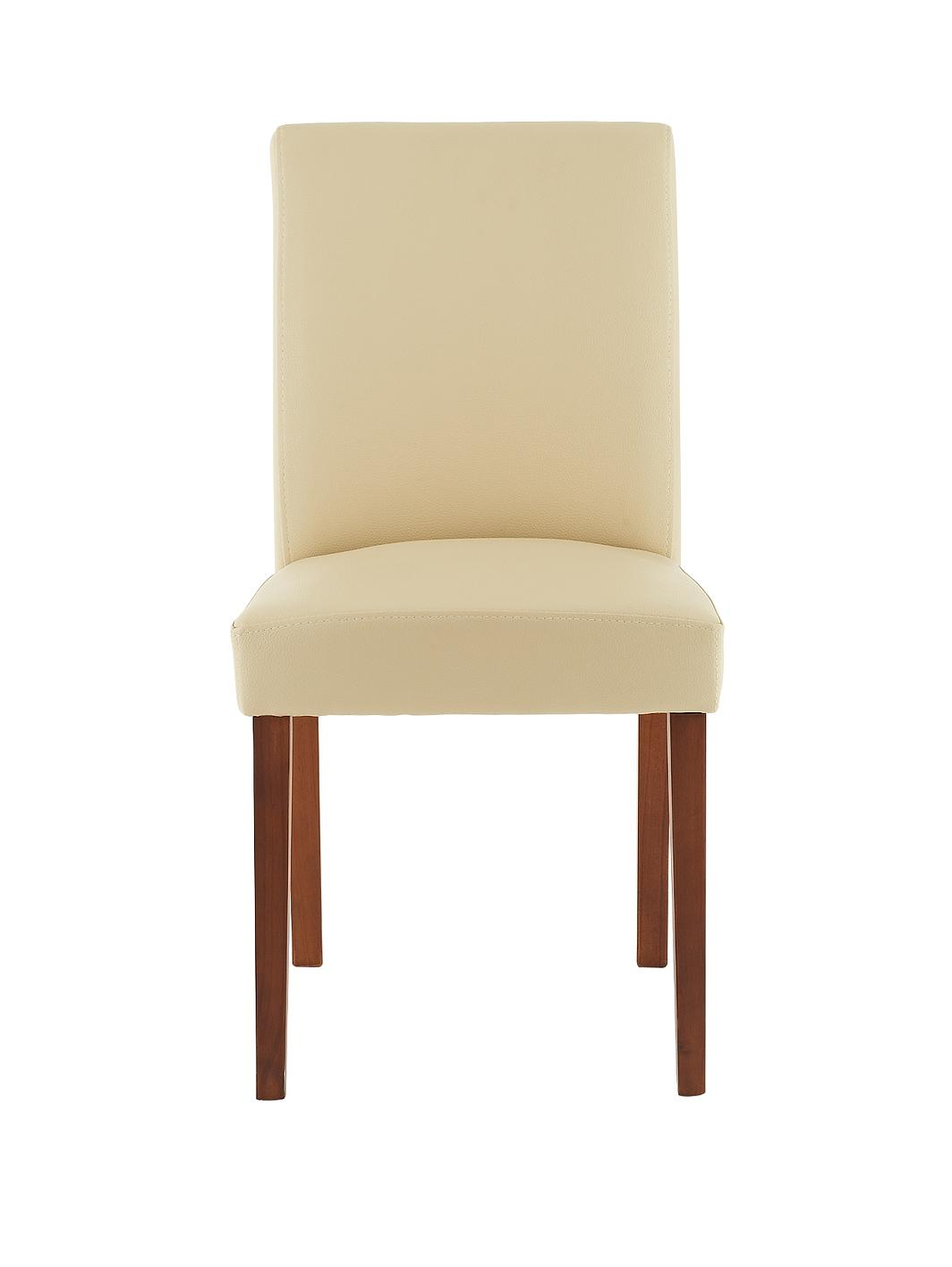 Lucca dining chairs set of 2 for Very small dining sets