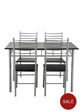rectangular-bistro-table-and-4-chairs-set